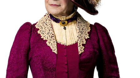 David Suchet as Lady Bracknell in The Importance of Being Earnest
