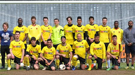St Albans City youth FC deaf team