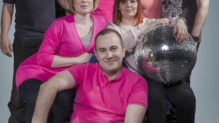 The Centre Theatre Players cast for Boogie Nights