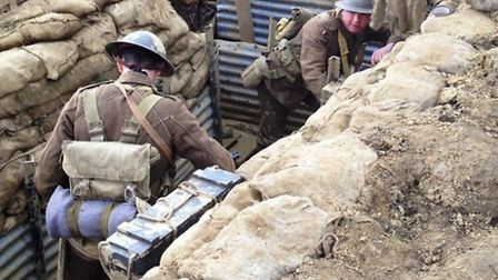 Lest We Forget will recreate a World War One trench