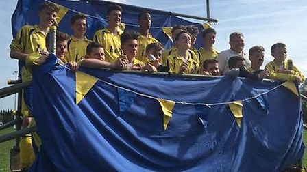 U15 East with the Spring Cup