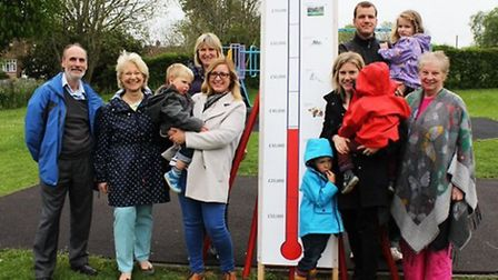 The Southdown play area project in Harpenden is seeking more funding. Photo courtesy of David Whitbr