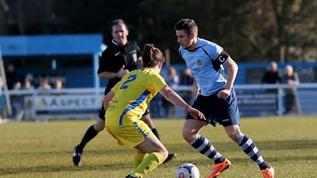 Lee Chappell in action during his 100th game for the Saints. Picture: Leigh Page