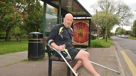 Graham Card, a retired & disabled war veteran, was injured on an UNO bus just 11 days after having h