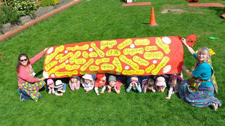 Old London Road preschool receives an outstanding Ofsted report