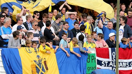 St Albans City chairman Nick Archer has praised the fans. Picture: Leigh Page