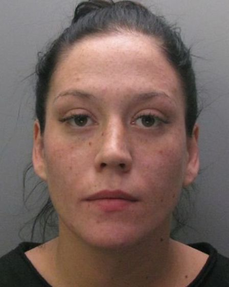 Maxine Tucker, who was jailed for attempting to smuggle drugs into HMP Littlehey.