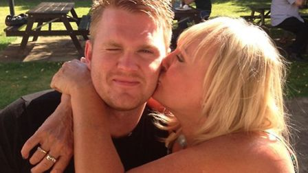 Tommy Robertson receives a well-done kiss from his proud mum Maggie