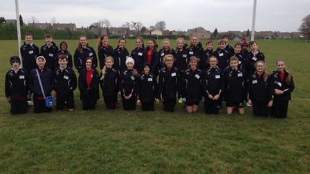 Greneway Middle School's Year 8 sports leaders Tag Rugby festival