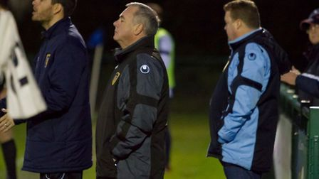 St Neots Town chairman Mike Kearns. Picture by Claire Howes.