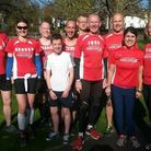 Harpenden Arrows at the first Luton parkrun