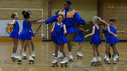 St Albans Artistic Roller Skating Club held its champsionships last weekend.