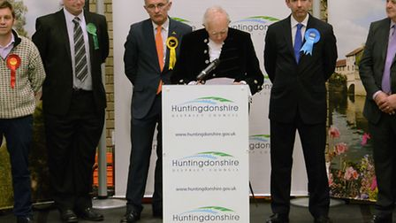 Huntingdonshire Election results 2015,