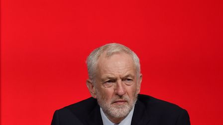 Britain's opposition Labour party leader Jeremy Corbyn looks on, Photo: OLI SCARFF/AFP/Getty Images)