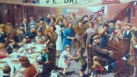 VE Day events in Huntingdonshire.