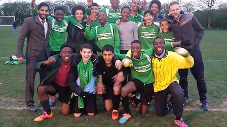 Youth teams in the Football Beyond Borders (FBB) schools programme visited Colney Heath to play in a