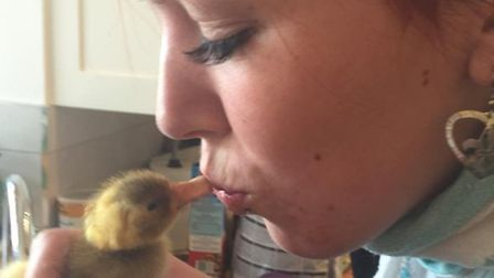 Hannah Knight is on a mission to look after the ducks of Verulamium Lake