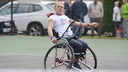 World number 1 Jordanne Whiley
