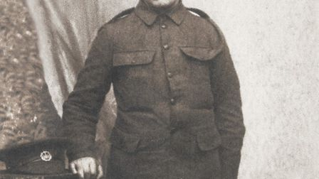 James Foxon (known to his family as Jim), who died in France of pneumonia, having spent long periods