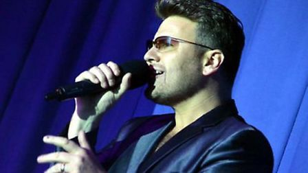 George Michael tribute act at Wyboston Lakes
