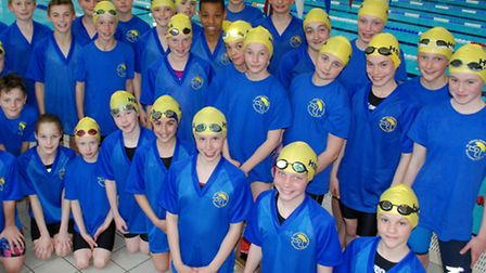 The St Albans District swimming squad