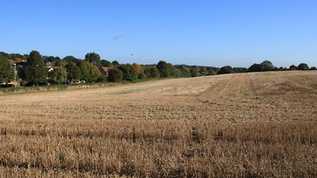 Green Belt land in the St Albans district