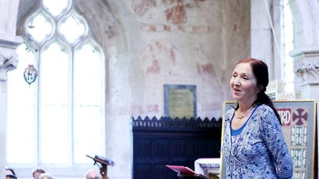 Jane Hawking at the book festival