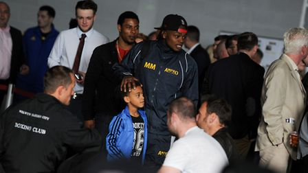 Moses Mabote ahead of his win at St Albans and London Colney ABC's dinner show on Saturday. Picture: