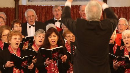 The Aragon Singers of Buckden will perform a Summer Concert at St Mary's, Buckden. Picture: GRAHAM T