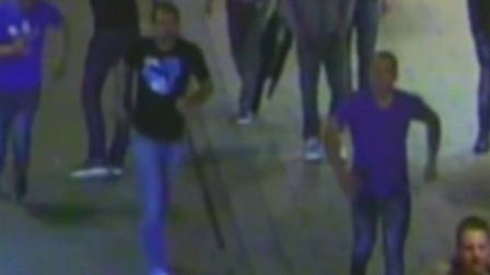 Police have released an image of four men who may be able to help with their investigation