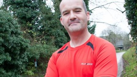 Race organiser and charity supporter Ash Hawkins