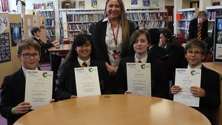 Marlborough Science Academy pupils in St Albans won first prize at the Salters' Festival of Chemistr