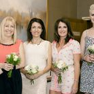 Debbie Diggle, Annie Brewster, Lisa Bates and Sarah-Helen Harris.at last year's fashion show