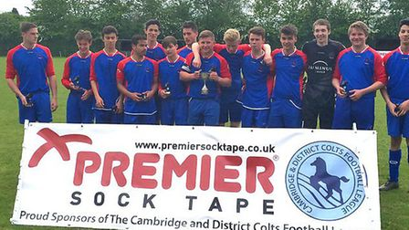 Brampton Spartans Red Under 17s won a cup final in their last-ever game.