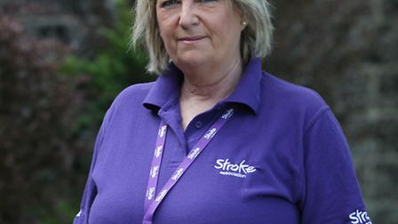 Sue Kirkby is a stroke survivor and is raising awareness during Action on Stroke Month