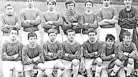 St Albans District U15s 1969-70, Andy King is third from the left, front row. (Photo courtesy: '100