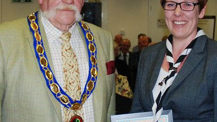 St Stephen parish council recognised individuals who have made exceptional contribution: Niki Dunn,