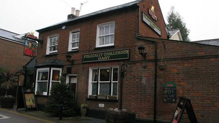 Ricky Barnett photoshopped well known pubs following a political correctness scandal