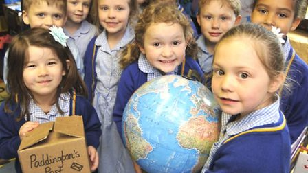 Reception pupils at Whitehall School, Somersham, have made it into an Australian newspaper, with Tea