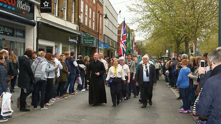 The annual St Albans Scouts' St George's Day Parade took place on Sunday, April 26, 2015
