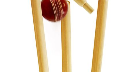 Wicket and ball