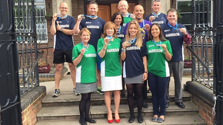 The Verulam School staff running club, the Verulam Elite Running Society and Cake Eaters (V.E.R.S.A.