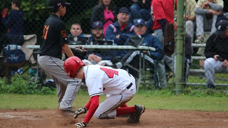 Herts Cardinals in the U15 Little League qualifier. Picture: Vicky Sinclair
