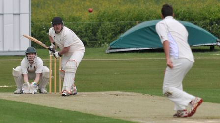 Tom Greaves faces a delivery