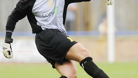 New St Neots Town goalkeeper Danny Gay. Picture: IAN BURT