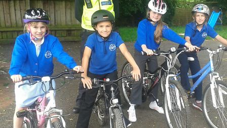 Bikeability lessons in Royston