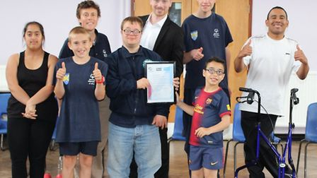Special Olympics St Albans has been awarded the Sport England Clubmark Accreditation.