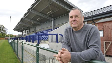 St Neots Town chairman Mike Kearns.