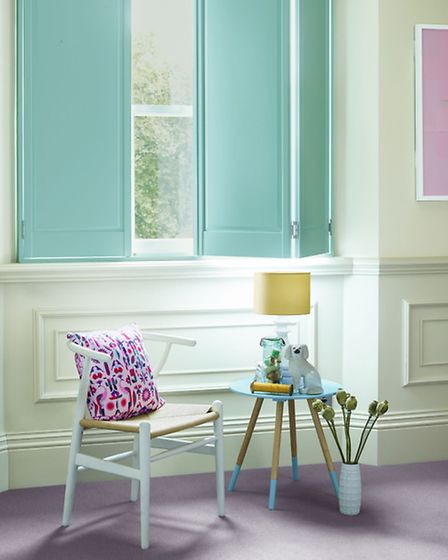 Mint shutters, available from Shutterly Fabulous. See PA FeaturePA Photo/Handout