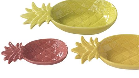 Linea pineapple serveware range, available from House of Fraser. PA Photo/Handout